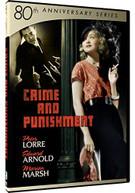ANNIVERSARY SERIES: 80TH - CRIME & PUNISHMENT DVD