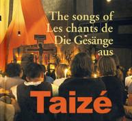TAIZE - SONGS OF TAIZE CD