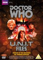 DOCTOR WHO - U.N.I.T FILES (UK) DVD