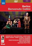 BERLIOZ BURKHARD NAOURI BRINDLEY PETRENKO - BENVENUTO CELLINI DVD