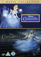 CINDERELLA LIVE ACTION / CINDERELLA ANIMATION DOUBLE PACK (UK) DVD