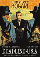 DEADLINE U.S.A. (1952) DVD