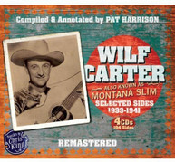 WILF CARTER - MONTANA SLIM 1933-1941 CD
