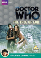 DOCTOR WHO - FACE OF EVIL (UK) DVD