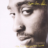 TUPAC SHAKUR, VARIOUS ARTISTS - THE ROSE THAT GREW FROM CONCRETE CD