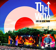 WHO - LIVE IN HYDE PARK (+DVD) (+BLU-RAY) CD