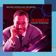 LINCOLN CENTER JAZZ ORCHESTRA WYNTON MARSALIS - LIVE IN SWING CITY: CD