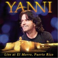 YANNI - YANNI: LIVE IN EL MORRO PUERTO RICO (+DVD) CD