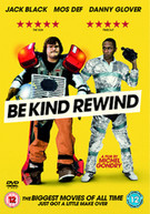 BE KIND REWIND (UK) DVD