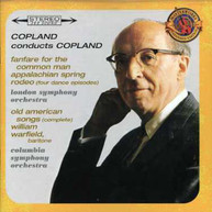 AARON COPLAND WARFIELD LSO COLS - COPLAND CONDUCTS COPLAND: CD