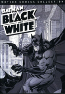 BATMAN BLACK & WHITE MOTIONS COMICS COLLECTION DVD