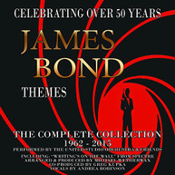 JAMES BOND THEMES: COMPLETE COLLECTION 1962 -2015 CD
