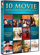 10 MOVIE FAITH & FAMILY HOLIDAY PACK (3PC) DVD