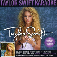 TAYLOR SWIFT - TAYLOR SWIFT - KARAOKE (+DVD) CD