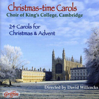 DAVID WILLCOCKS CHOIR OF KING'S COLLEGE - CHRISTMAS - CHRISTMAS-TIME CD