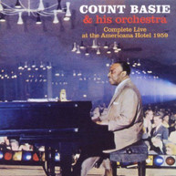 COUNT BASIE - COMPLETE LIVE AT THE AMERICANA HOTEL 1959 CD