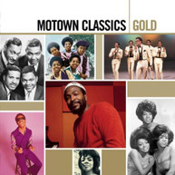 VARIOUS ARTISTS - MOTOWN CLASSICS GOLD CD
