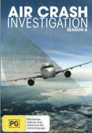 AIR CRASH INVESTIGATIONS: SEASON 6 (2007) DVD