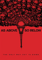 AS ABOVE SO BELOW DVD