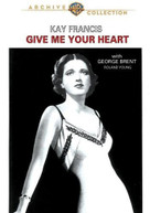 GIVE ME YOUR HEART DVD