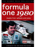F1 REVIEW 1980 DOUBLE FIRST - WILLIAMS & JONES DVD