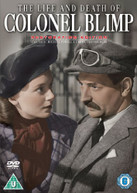 THE LIFE AND DEATH OF COLONEL BLIMP - SPECIAL RESTORATION EDITION (UK) DVD