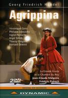 HANDEL /  GENS / JAROUSSKY / PERRUCHE / FISBACH - AGRIPPINA (2PC) DVD