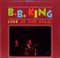 B.B. KING - LIVE AT THE REGAL VINYL