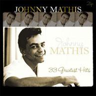 JOHNNY MATHIS - 33 GREATEST HITS (IMPORT) VINYL
