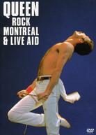 QUEEN - QUEEN ROCK MONTREAL & LIVE AID (2PC) (WS) DVD