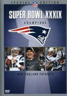 NFL SUPER BOWL XXXIX DVD