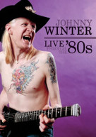 JOHNNY WINTER - LIVE THROUGH THE 80'S DVD