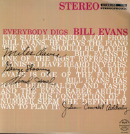 BILL EVANS - EVERYBODY DIGS BILL EVANS - VINYL
