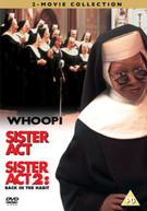 SISTER ACT  / SISTER ACT 2 (UK) DVD