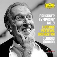 BRUCKNER ABBADO LUCERNE FESTIVAL ORCHESTRA - SYMPHONY NO 9 (LTD) VINYL