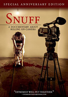 SNUFF: A DOCUMENTARY ABOUT KILLING ON CAMERA DVD