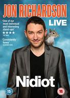 JON RICHARDSON - NIDIOT LIVE (UK) DVD