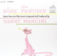 HENRY MANCINI - PINK PANTHER (MUSIC) (FROM) (THE) (FILM) (SCORE) VINYL