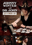JOHNNY WINTER & DR. JOHN - LIVE IN SWEDEN 1987 DVD