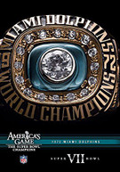NFL AMERICA'S GAME: 1972 DOLPHINS (BOWL) (VII) DVD