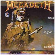 MEGADETH - SO FAR SO GOOD: SO WHAT (LTD) (180GM) VINYL