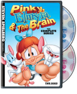 STEVEN SPIELBERG: PINKY ELMYRA & BRAIN THE COMP DVD