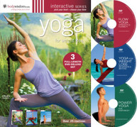 YOGA FOR WEIGHT LOSS (3PC) DVD