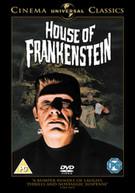 HOUSE OF FRANKENSTEIN (UK) DVD