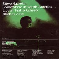 STEVE HACKETT - SOMEWHERE IN SOUTH AMERICA DVD
