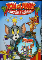 TOM & JERRY: PAWS FOR A HOLIDAY DVD