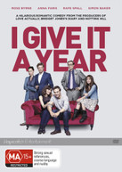 I GIVE IT A YEAR (2013) DVD