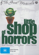 LITTLE SHOP OF HORRORS (1986) (THE GREAT MUSICALS) (1986) DVD