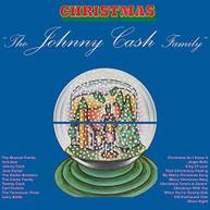 JOHNNY CASH - JOHNNY CASH FAMILY CHRISTMAS (GATE) (LTD) (180GM) VINYL