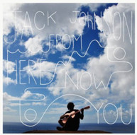 JACK JOHNSON - FROM HERE TO NOW TO YOU - VINYL